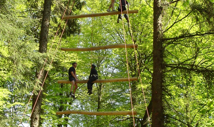 Vingsted Adrenalin High Adventure - timeout mødeaktiviteterne 4