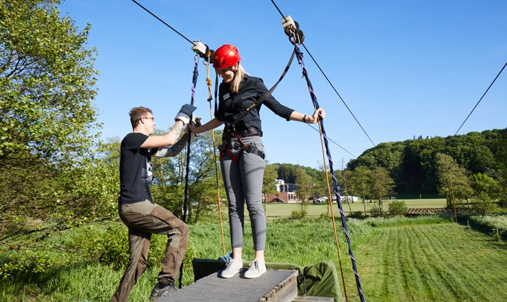 Vingsted timeout - zipline 3