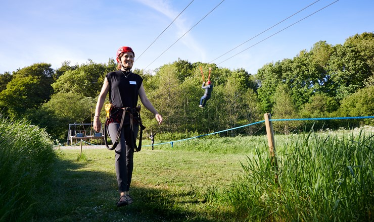 Vingsted timeout - zipline 4